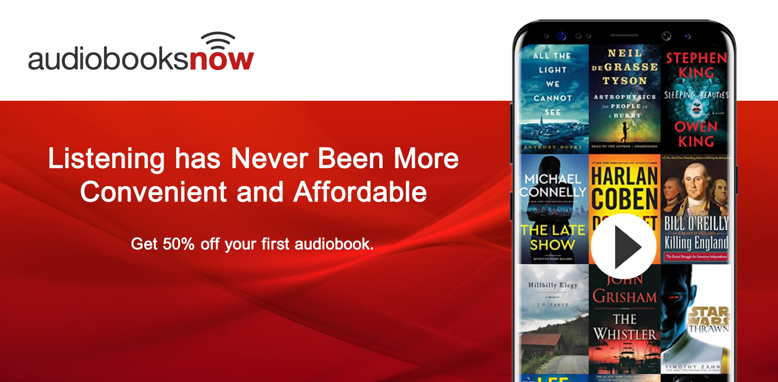About AudiobooksNow Homepage
