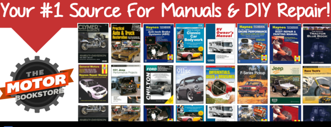 About The Motor Bookstore Homepage