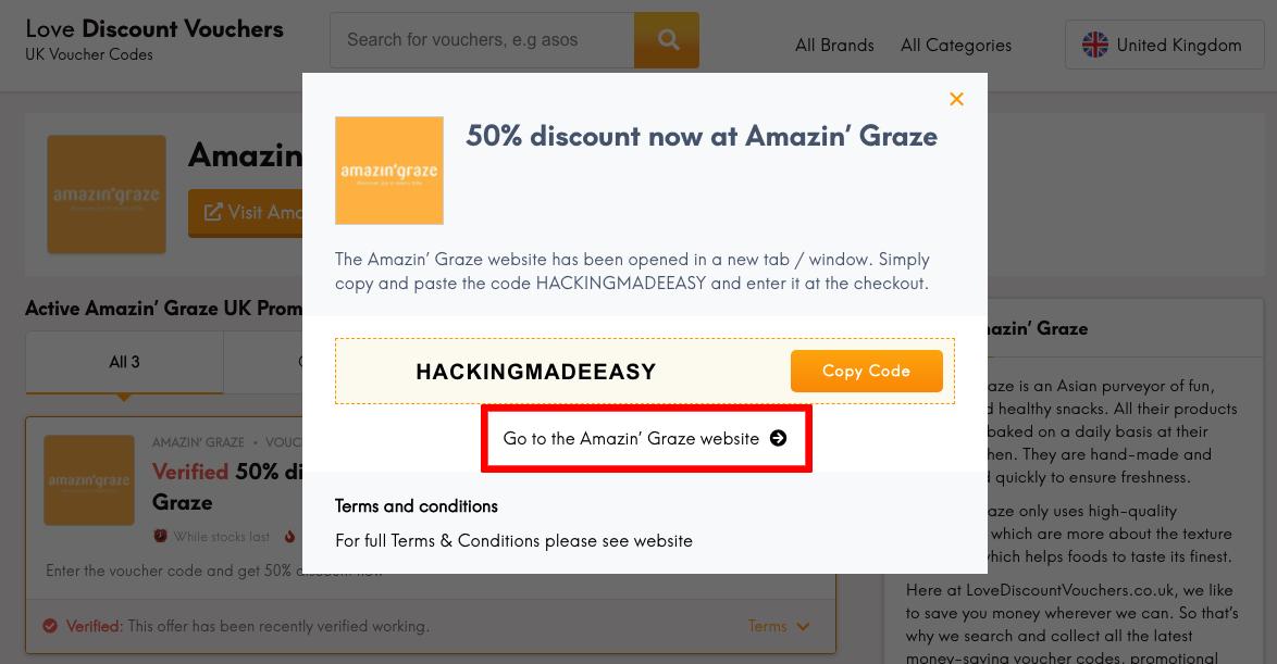 Amazin' Graze UK Get Code