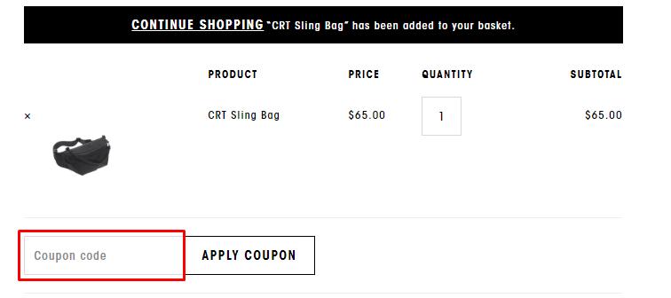 How do I use my Stighlorgan coupon code?