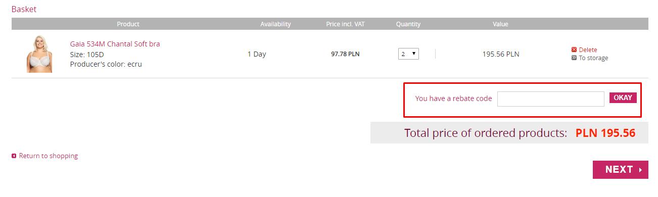 How do I use my Avaro.pl discount code?