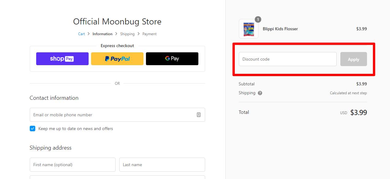 How do I use my Blippi discount code?