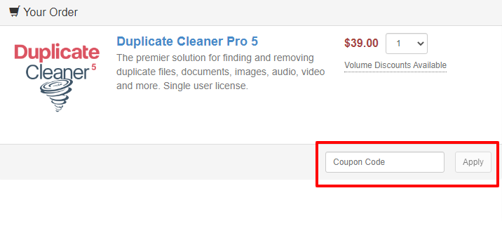 DuplicateCleaner Checkout