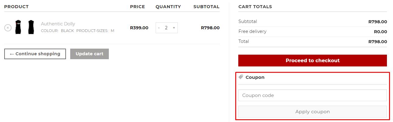 How do I use my Kappa coupon code?