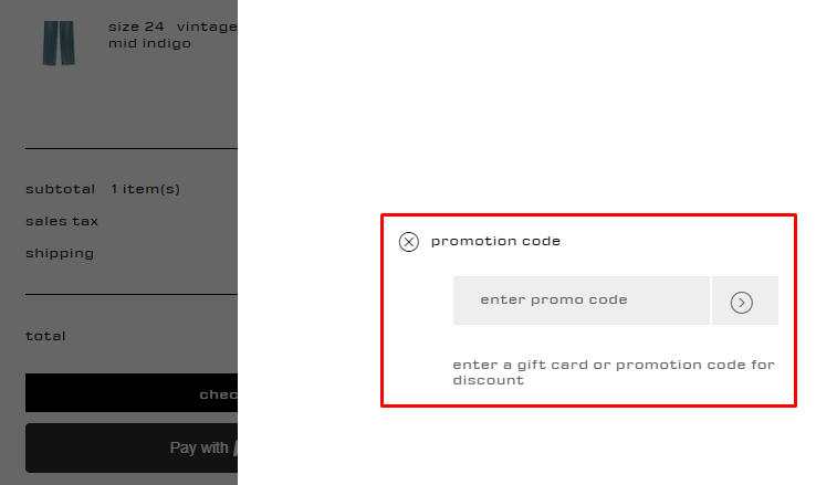 How do I use my Alexander Wang promotion code?