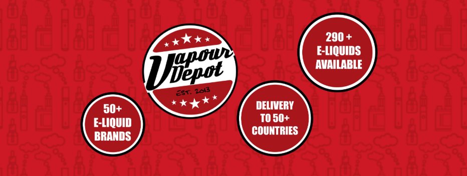 About Vapour Depot homepage
