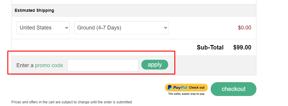 How do I use my Canary coupon code?