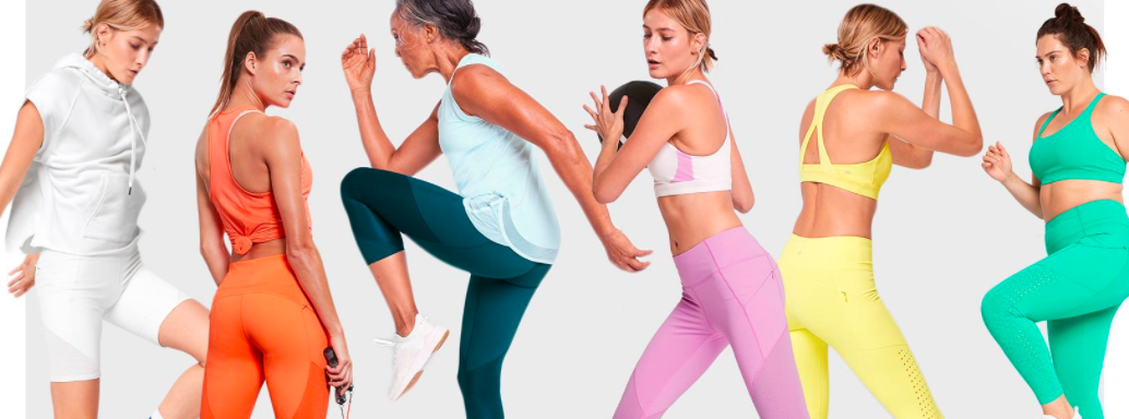About Athleta Homepage