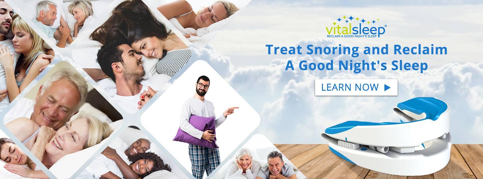 About Vital Sleep Homepage