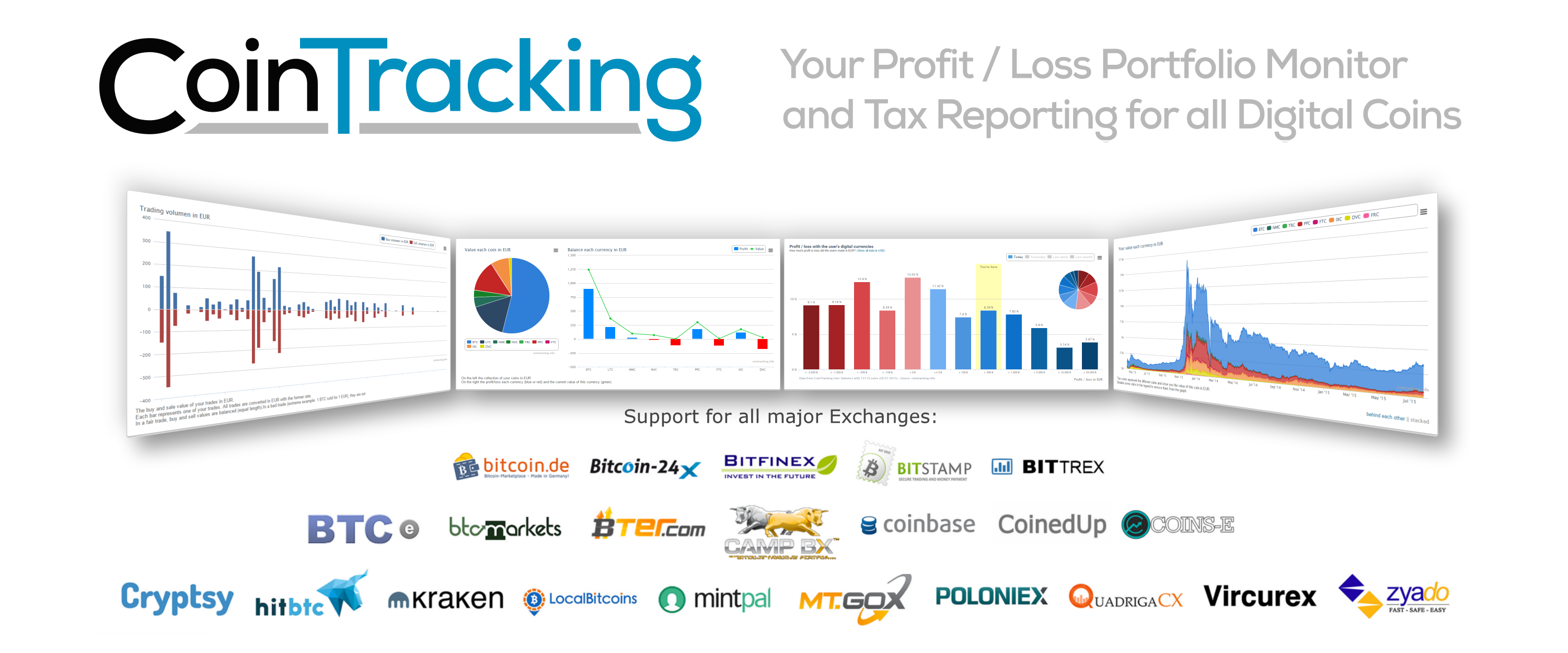 About CoinTracking Homepage