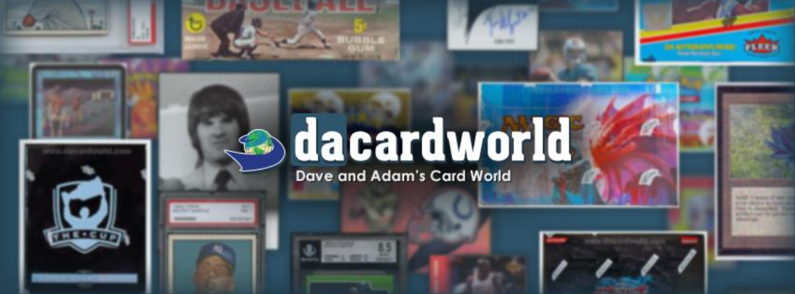 About Dave and Adam's Card World Homepage