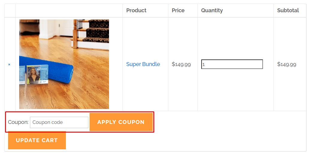 How do I use my MELT Method coupon code?