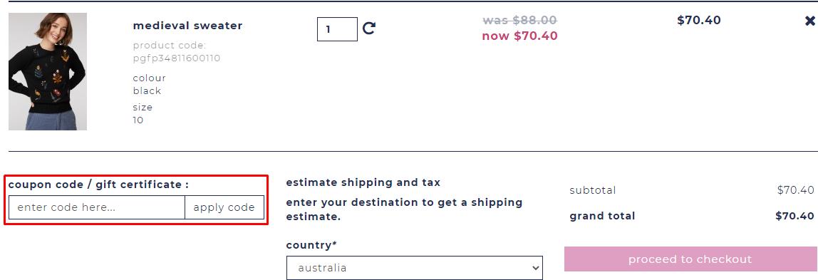 How do I use my Princess Highway coupon code?
