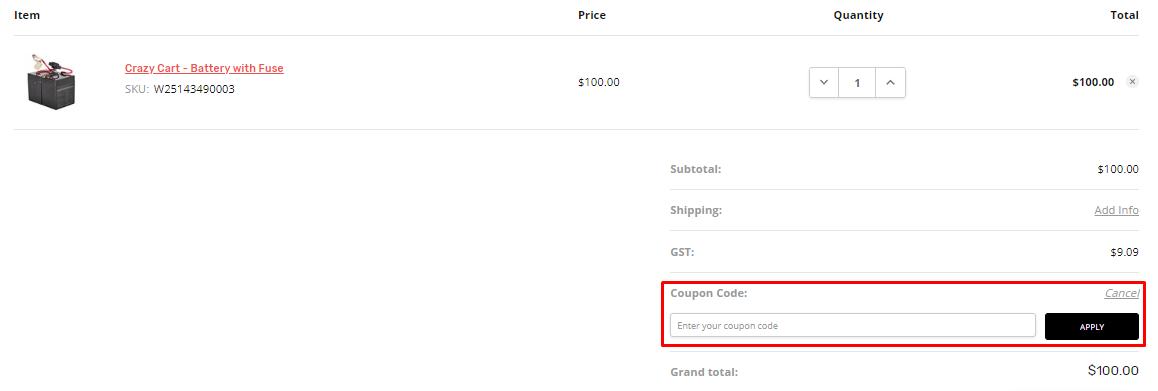 How do I use my Razor coupon code?