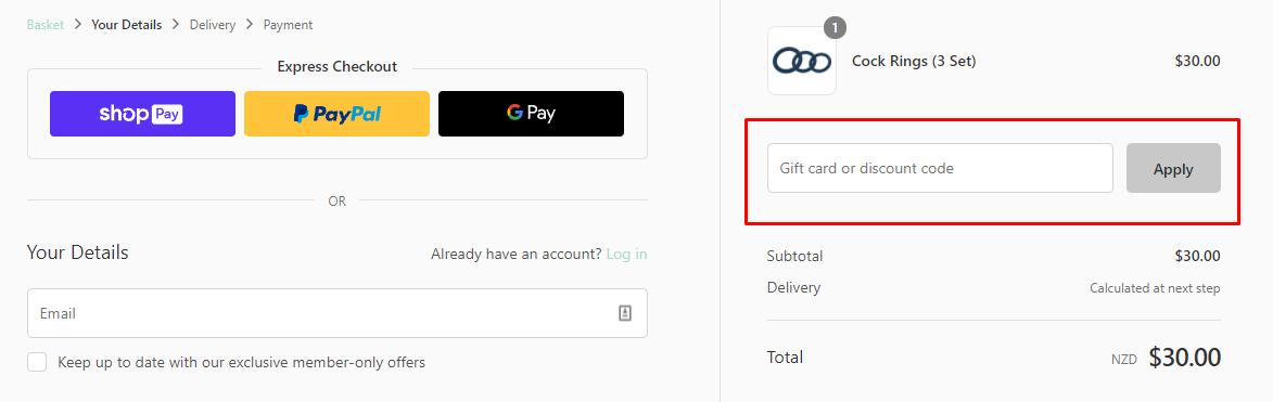How do I use my Kandid discount code?