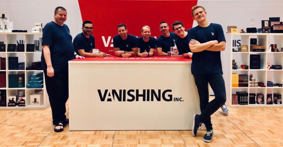 About Vanishing Inc. Magic Homepage