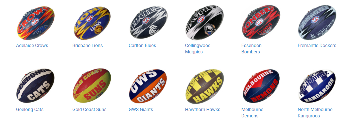 About AFL Footy Shop Homepage