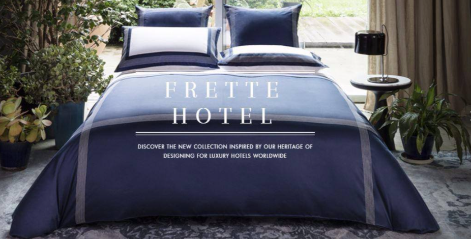 About Frette Homepage