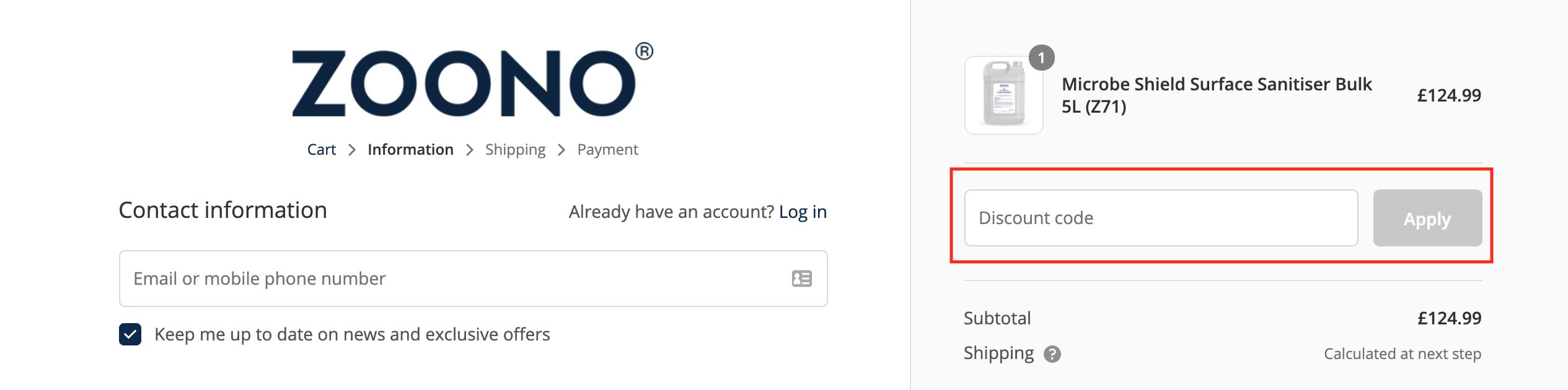 zoonoo discount code