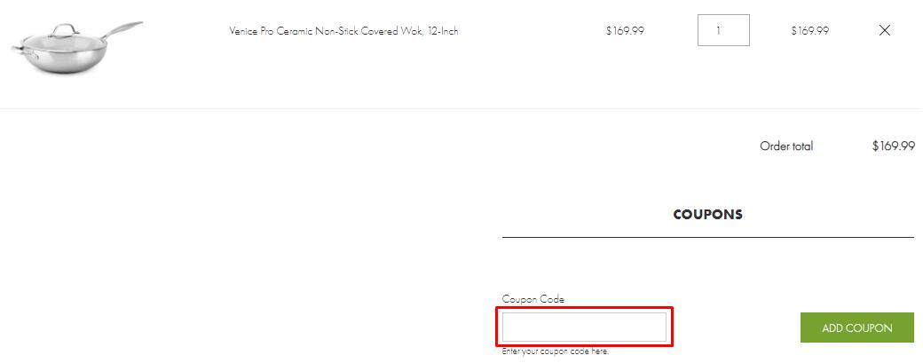 How do I use my GreenPan coupon code?