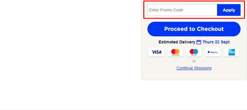How do I use my Vision Direct promo code?