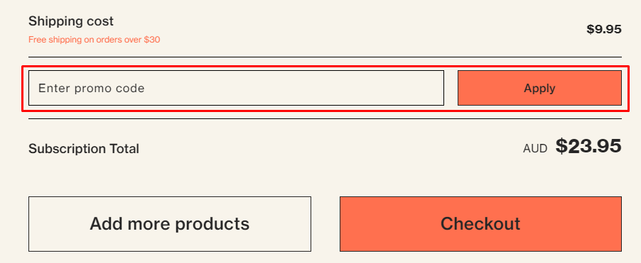 How do I use my Vitable promo code?