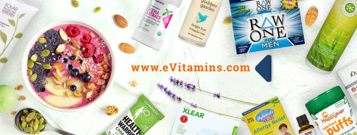 About eVitamins Homepage
