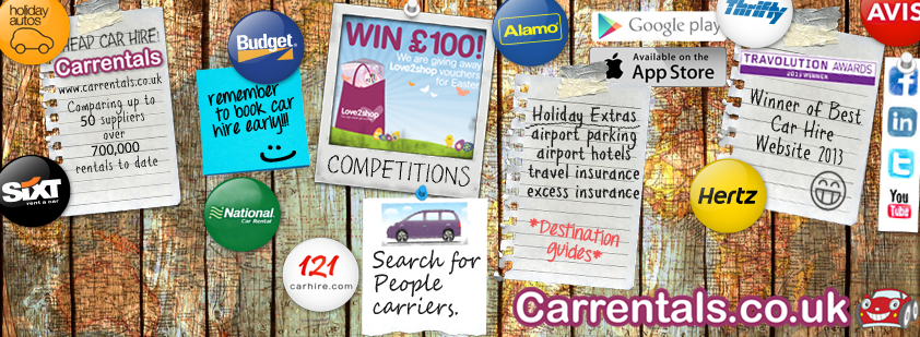 About Carrentals.co.uk Homepage