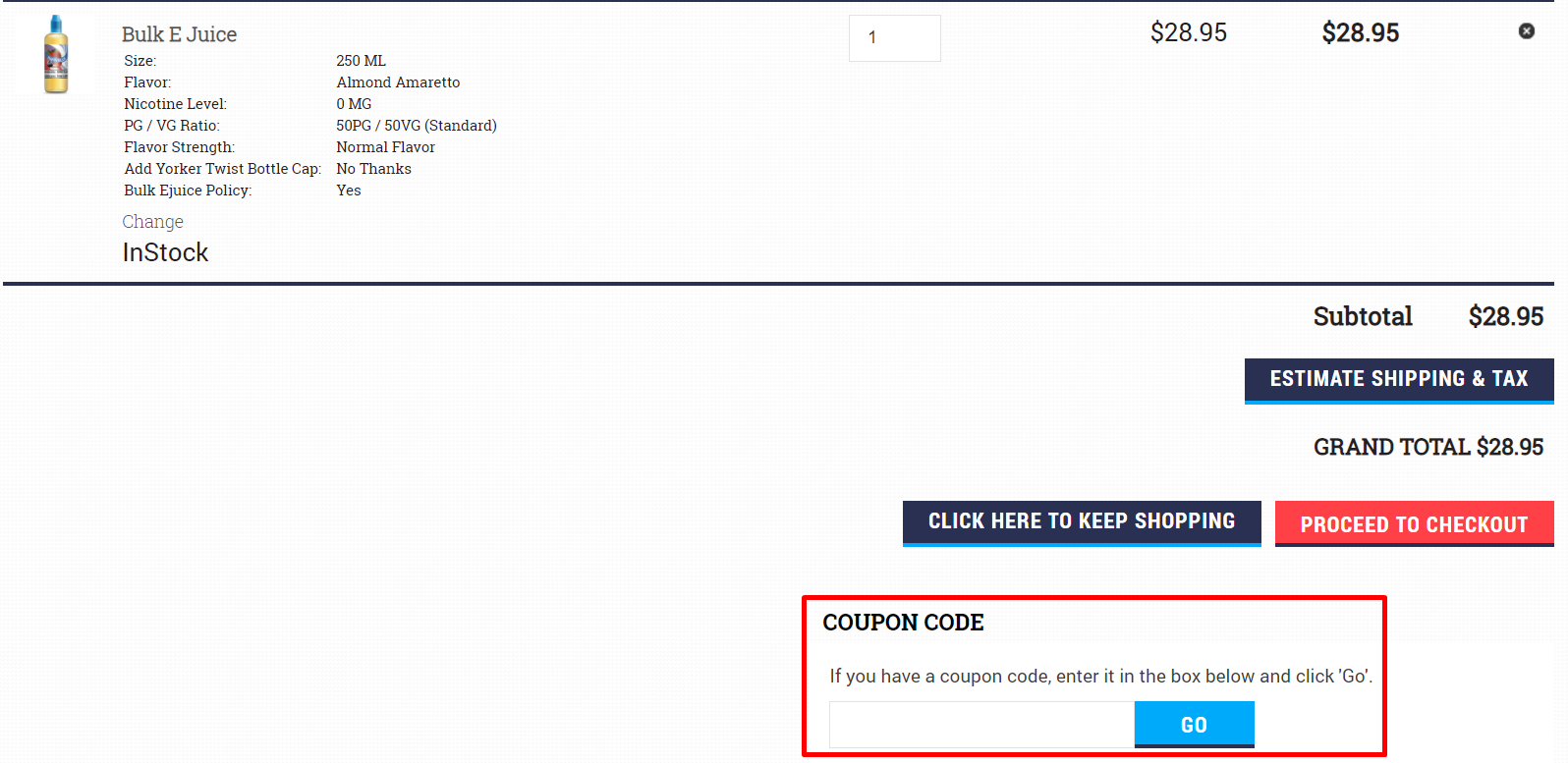 How do I use my Central Vapors coupon code?