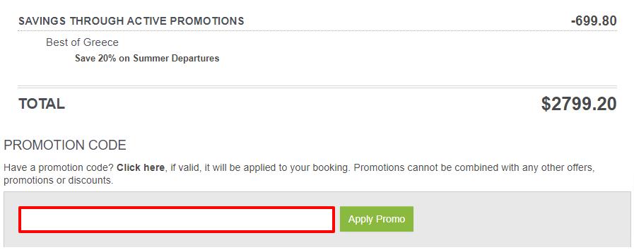 G Adventures Promotion Code