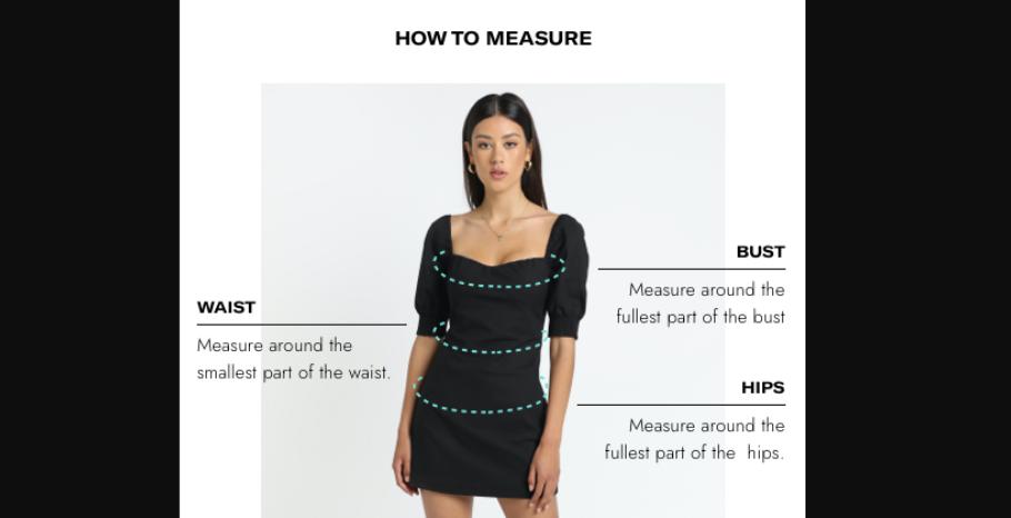 Showpo size guide