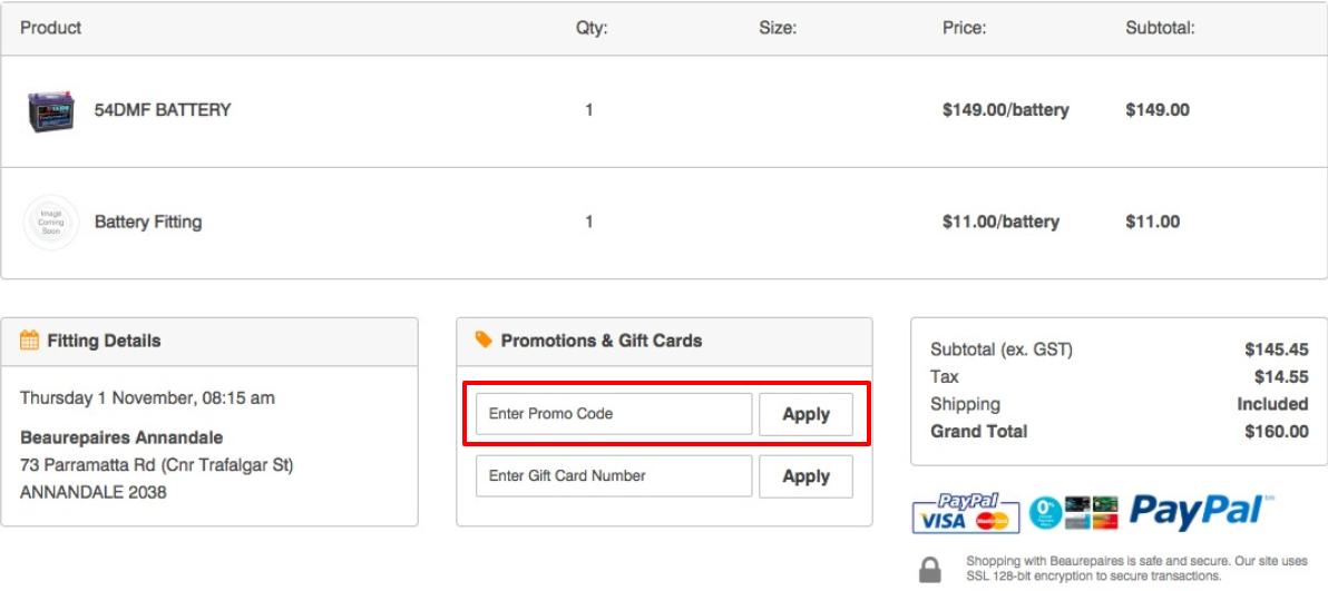 How do I use my Beaurepaires Tyres discount code?