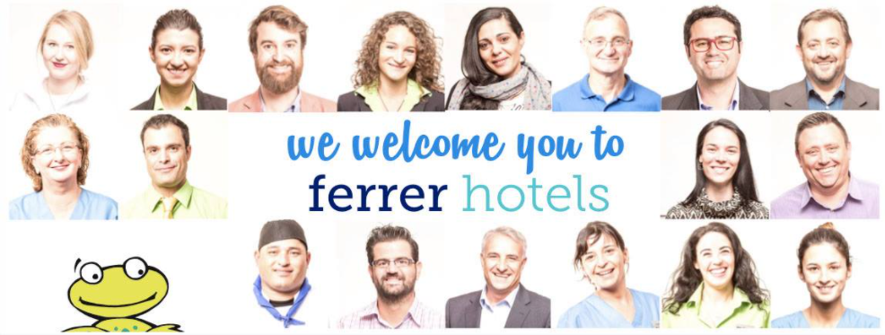 About Ferrer Hotels Homepage
