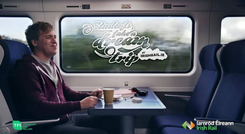 About Irish Rail Homepage
