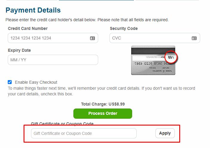 How do I use my eBooks coupon code?