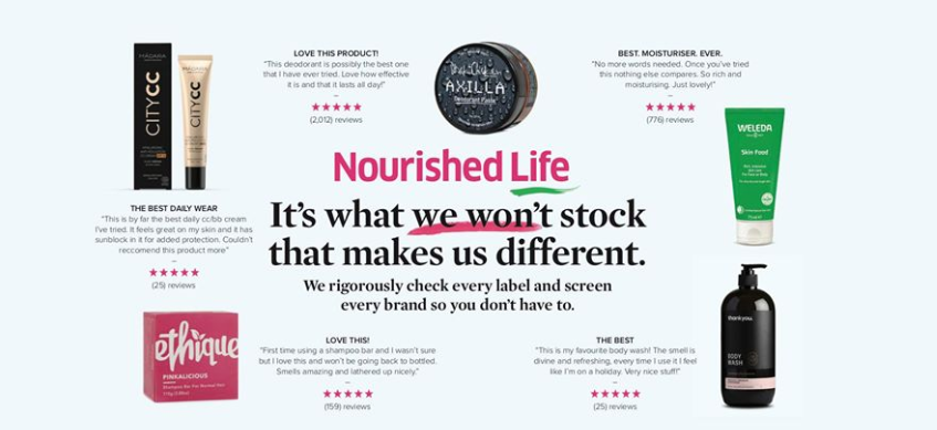 About Nourished Life Homepage