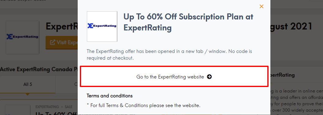 Expert offer ca