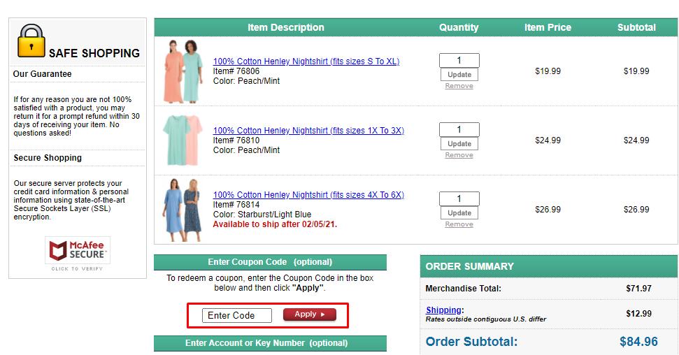 How do I use my Dr. Leonard's coupon code?
