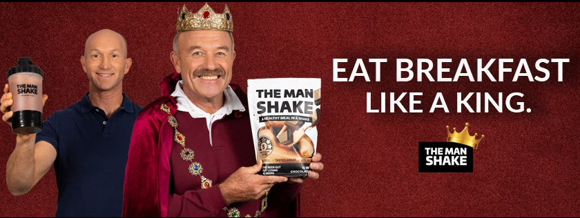 About The Man Shake Homepage