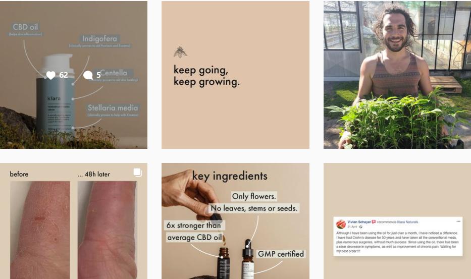 About kiara Homepage
