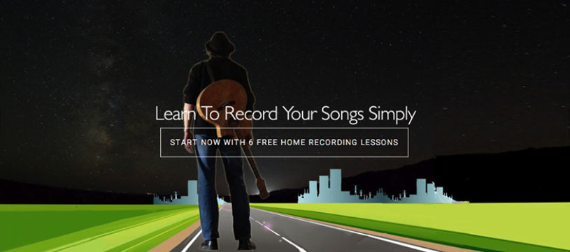 About Easy Home Recording Blueprint Homepage