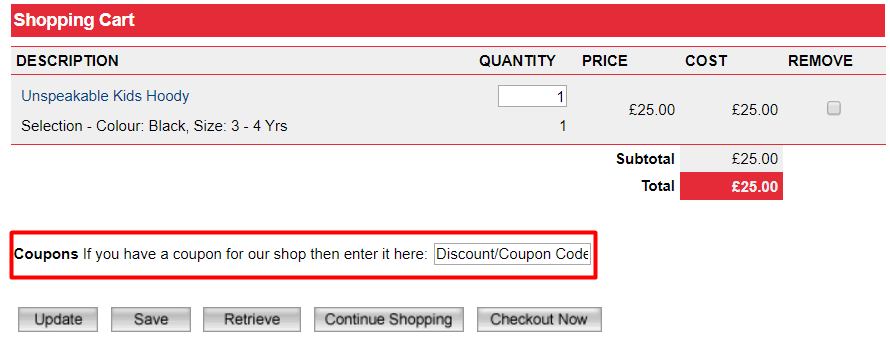 How do I use my Stardust Kids discount code?