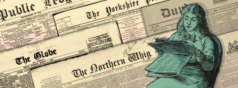 About The British Newspaper Archive homepage