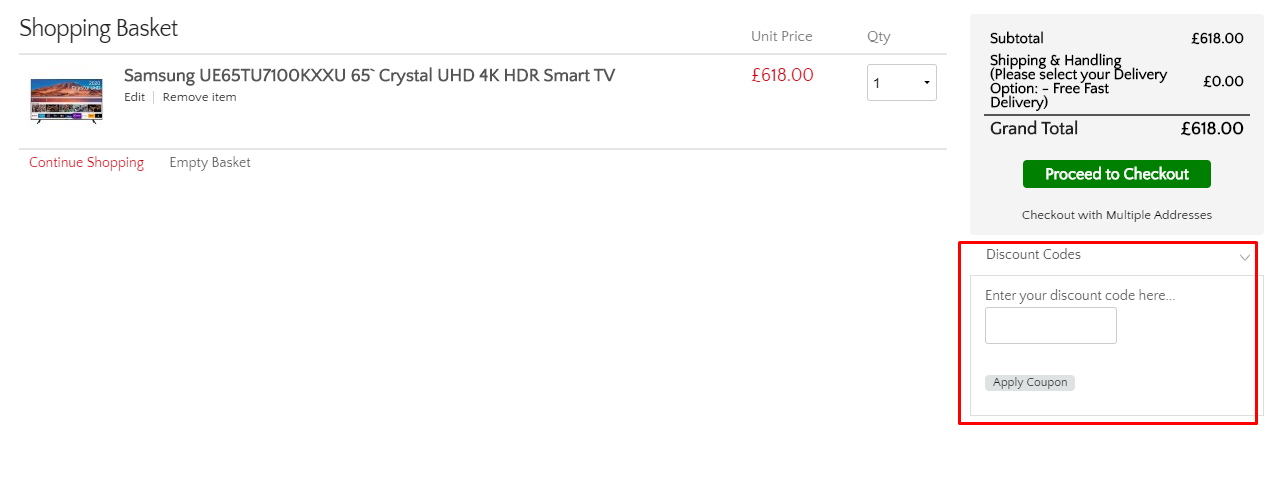 How do I use my Beyond Television discount code?