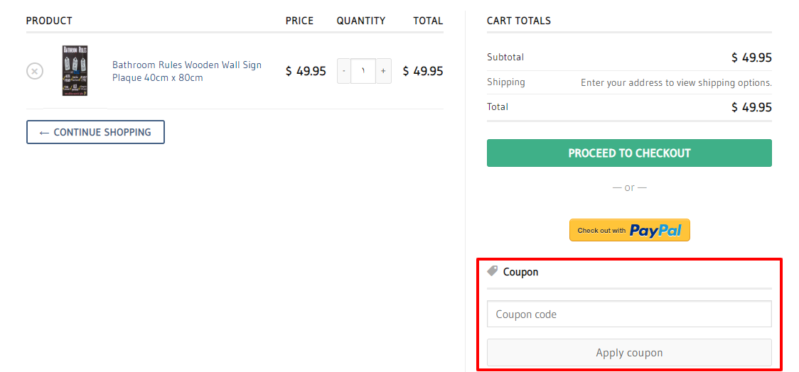 How do I use my Australia's Finest Home Decor Store discount code?