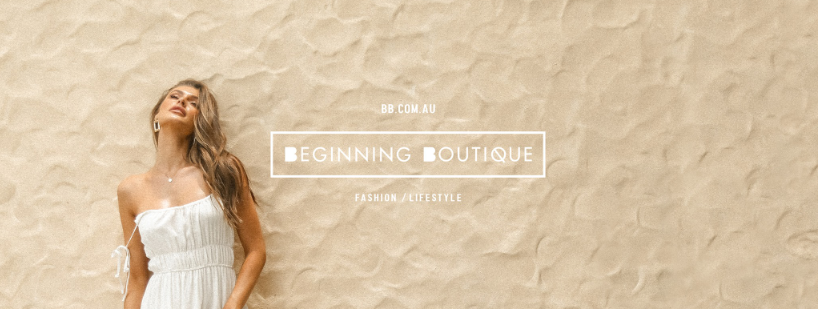 About Beginning Boutique Homepage