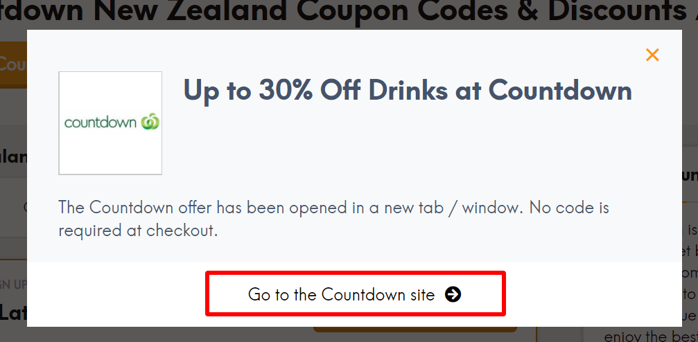 NZ Countdown goto