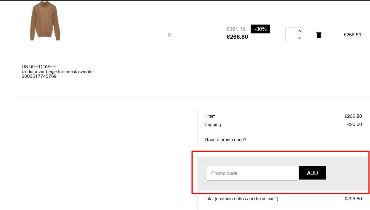 How do I use my Julian fashion discount code?