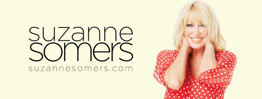 About Suzanne Somers Homepage