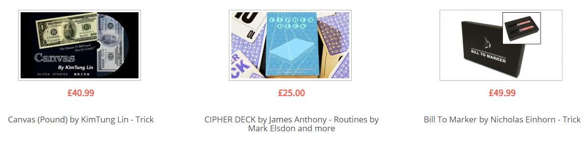 Magic World Best Sellers